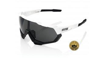 100% Speedtrap Sport gafas tamaño unisize matte blanco/negro (Smoke-lense)