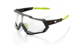100% Speedtrap Sportbrille Gr. unisize soft tact cool grey (Photochromic-lens)