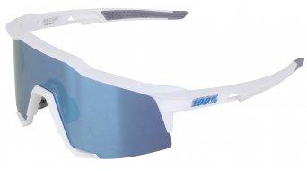 100% Speedcraft HD Multilayer Sportbrille Gr. tall matte white (Hiper-lens)