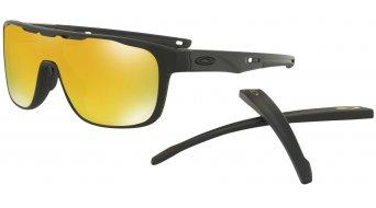 Oakley Crossrange Shield Brille matte black/24k iridium