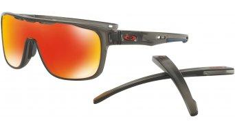 Oakley Crossrange Shield PRIZM Brille matte grey smoke/prizm ruby
