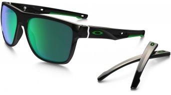 Oakley Crossrange XL Brille polished black/jade iridium