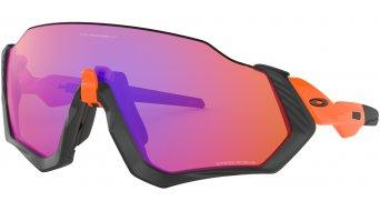 Oakley Flight Jacket PRIZM 眼镜 neon 橙色/prizm trail