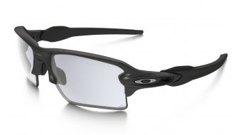 Oakley Flak 2.0 XL Brille steel/clear black iridium photochromic