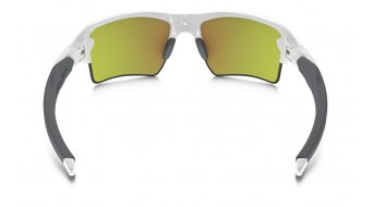 Oakley Flak 2.0 XL Brille polished white/fire iridium