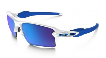 Oakley Flak 2.0 XL Brille polished white/sapphire iridium