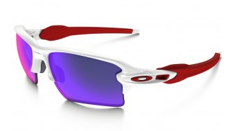 Oakley Flak 2.0 XL Brille polished white/positive red iridium