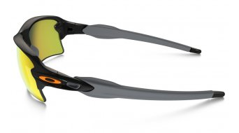 Oakley Flak 2.0 XL Brille polished black/fire iridium