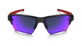 Oakley Flak 2.0 XL Brille polished black/+ red iridium