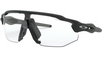 Oakley Radar EV Advancer PHOTOCHROMIC Brille matte black/clear black photocromic iridium