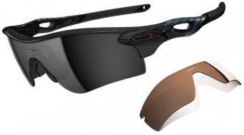 Oakley Radarlock Path occhiali polished black/black iridium polarized & vr28 black iridium