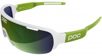POC DO Half Blade Cannondale Limited Edition occhiali hydrogen white/cannon green//green/green mirror