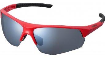 Shimano TwinSpark Brille red/smoke silver mirror