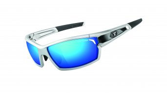 Tifosi Camrock Brille Frame:-silver/black-Lens:-clarion-blue/ac-red/clear-(full-frame)