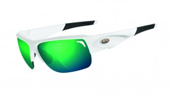 Tifosi Elder gafas Frame:-matte-blanco-Lens:-clarion-verde/ac-rojo/clear