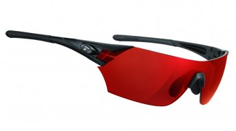 Tifosi Podium glasses Frame:- mat-black-Lens:-clarion-red/ac-red/clear
