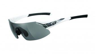 Tifosi Podium XC glasses Frame:-white/gunmetal-Lens:-smoke/ac-red/clear