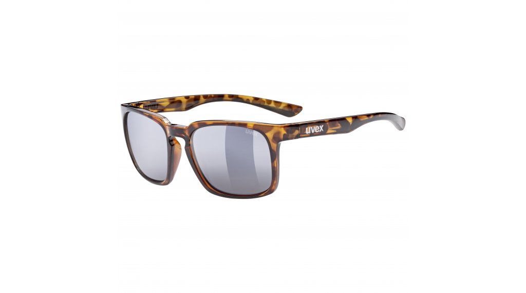 Uvex LGL 35 Lifestyle- occhiali havanna//mirror oro (S3)