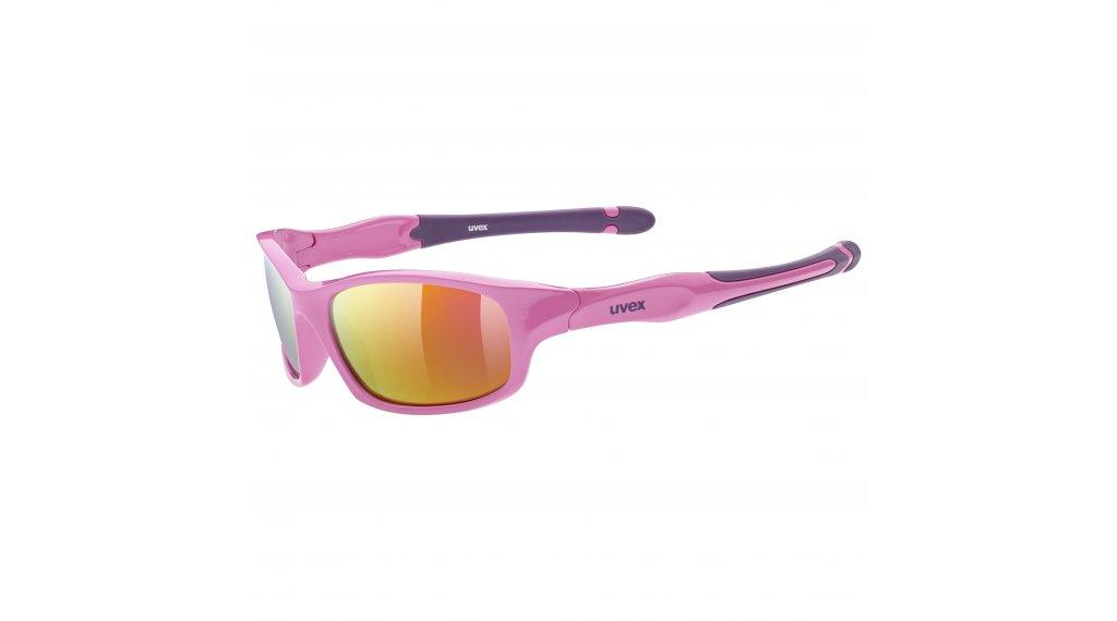 Uvex Sportstyle 507 Brille Kinder pink/purple//mirror pink (S3)