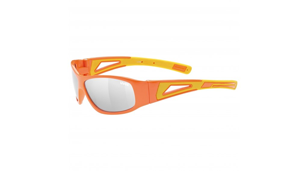 Uvex Sportstyle 509 Kinder-Brille orange/yellow//litemirror silver (S3)