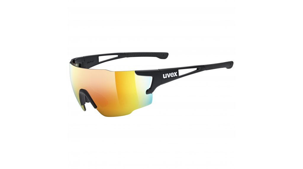 Uvex Sportstyle 804 occhiali nero//mirror rosso (S3)