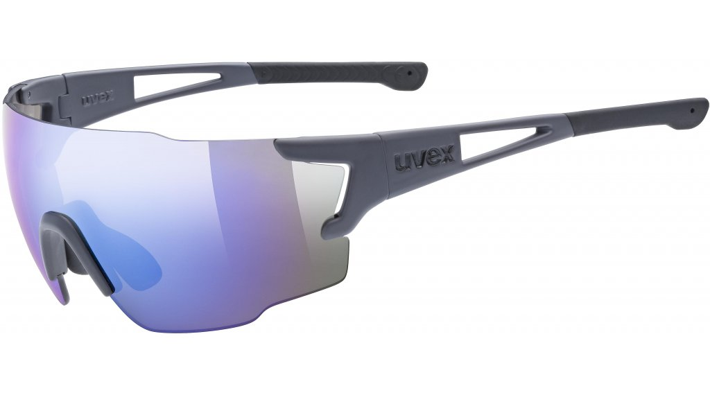 Uvex Sportstyle 804 occhiali dark grigio opaco//mirror blu (S3)