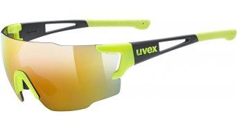 Uvex Sportstyle 804 occhiali giallo/nero opaco//mirror giallo (S3)