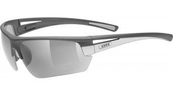 Uvex Gravic Brille dark grey matt/silver (S0/S1/S3)