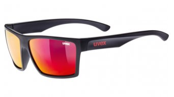 Uvex LGL 29 Lifestyle-Brille black matt //mirror (S3)