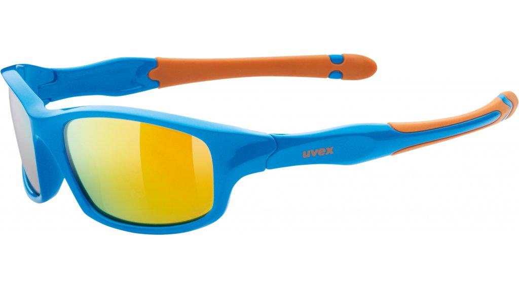 Uvex Sportstyle 507 Brille Kinder blue/orange//mirror orange (S3)