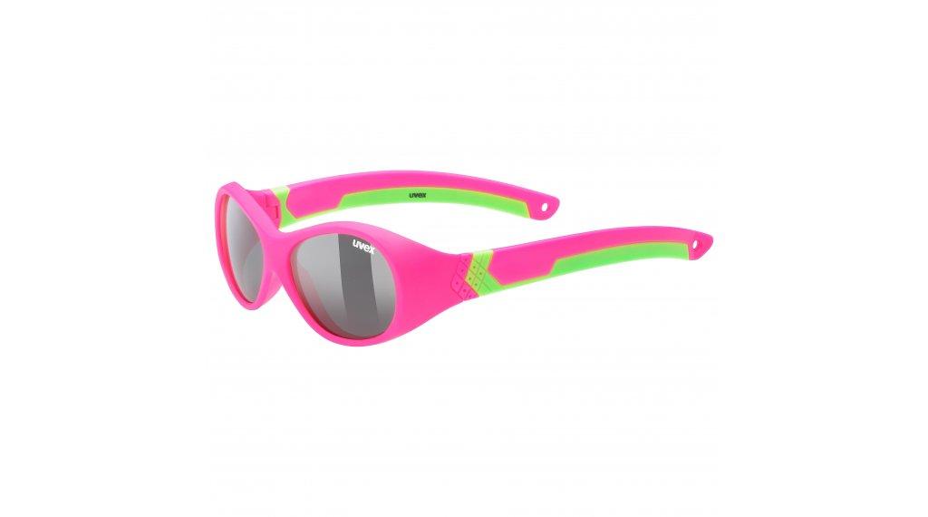 Uvex Sportstyle 510 Kinder-Brille pink/green //smoke (S3)