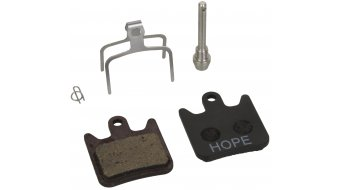 Hope Race X2 pastillas de freno de disco estándar (aluminio-puente de contacto)