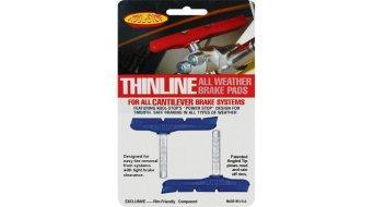 Kool-Stop Thinline Cantilever Bremsschuhe blau