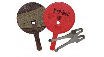 Kool-Stop Disc-pastillas de freno para Avid Ball Bearing 5 acero-placa trasera/capa-orgánico(-a) D280