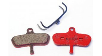 Kool-Stop disc-brake pads for Avid Code steel-rearplate/pad-organic