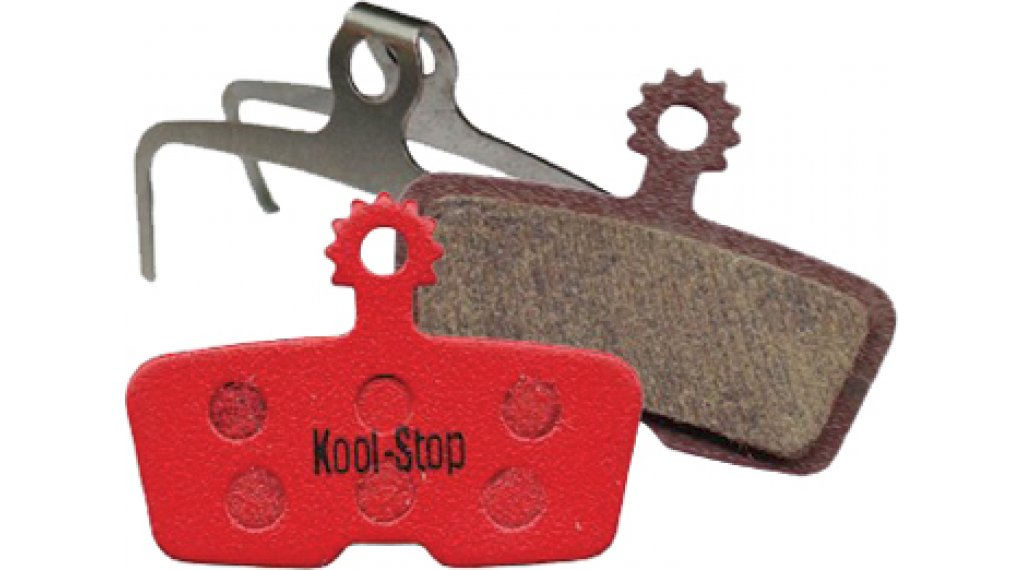 Kool-Stop 碟刹-刹车衬垫 Avid Code R 钢-有机的