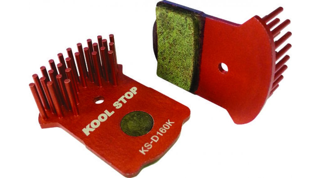 Kool-Stop Aero Kool Disc-Bremsbeläge Magura MT2/MT4/MT6/MT8 Alu-Organisch