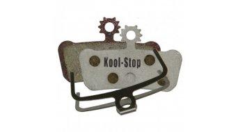 Kool-Stop Disc-pastillas de freno para Avid SRAM X.0 Trail/Elixir Trail aluminio-placa trasera/capa-orgánico(-a) D293 A