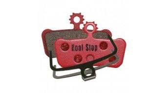 Kool-Stop Disc-pastillas de freno para Avid SRAM X.0 Trail/Elixir Trail acero-placa trasera/capa-orgánico(-a) D293
