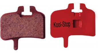 Kool-Stop disc-brake pads for Hayes Mag and HFX-9 steel-rearplate/pad-organic D200