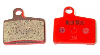 Kool-Stop disc-brake pads for Hayes Ryde steel-rearplate/pad-organic D260