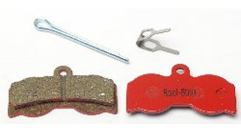 Kool-Stop disc-brake pads for Hope XC4 steel-rearplate/pad-organic D540