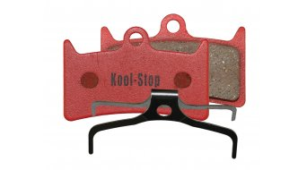 Kool-Stop disc-brake pads for Hope V4 steel-rearplate/pad-organic D585