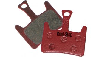Kool-Stop disc-brake pads for Hayes Prime steel-rearplate/pad-organic D261