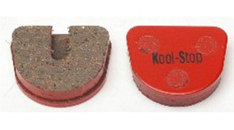 Kool-Stop disc-brake pads for JoyTech Mechanical steel-rearplate/pad-organic D760