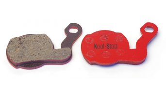Kool-Stop disc-brake pads for Magura Marta/Marta SL steel-rearplate/pad-organic