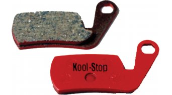 Kool-Stop Disc-Bremsbeläge für Magura Marta/Marta SL Stahl-Rückplatte/Belag-organisch