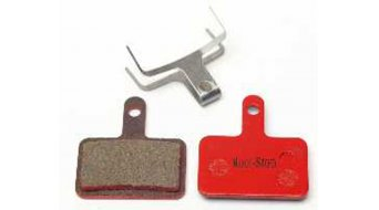 Kool-Stop disc-brake pads for Shimano Deore for and steel-rearplate/pad-organic
