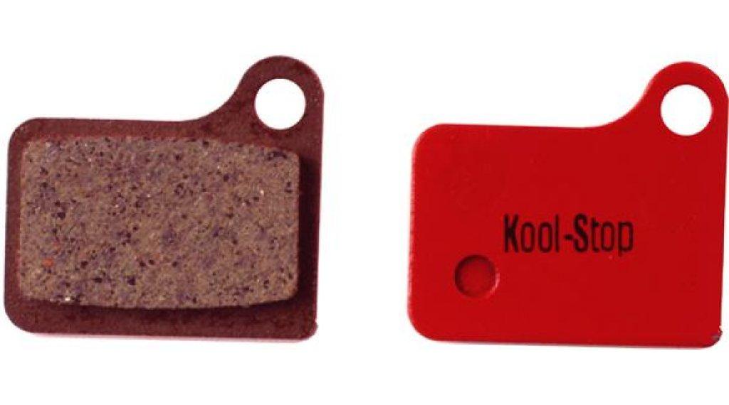 Kool-Stop 碟刹-刹车衬垫 Shimano Deore BR-M555/BR-C901 钢-有机的
