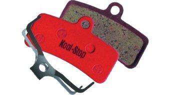 Kool-Stop Disc-pastillas de freno para Shimano Saint 4-piston(-es) M810 acero-placa trasera/capa-orgánico(-a) D640